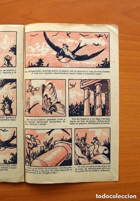 Tebeos: Historias y cuentos de TBO - nº 1, La pulgarcilla - Editorial Buigas 1919 - Tamaño 16x21, ver fotos - Foto 5 - 132716162