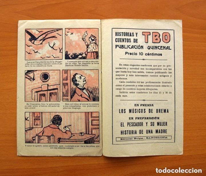 Tebeos: Historias y cuentos de TBO - nº 1, La pulgarcilla - Editorial Buigas 1919 - Tamaño 16x21, ver fotos - Foto 6 - 132716162
