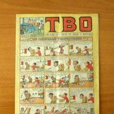 Tebeos: TBO 2ª EPOCA - SEGUNDA EPOCA - Nº 1 UN NÁUFRAGO TEMPESTUOSO - EDITORIAL BUIGAS 1952, VER FOTOS. Lote 132779846