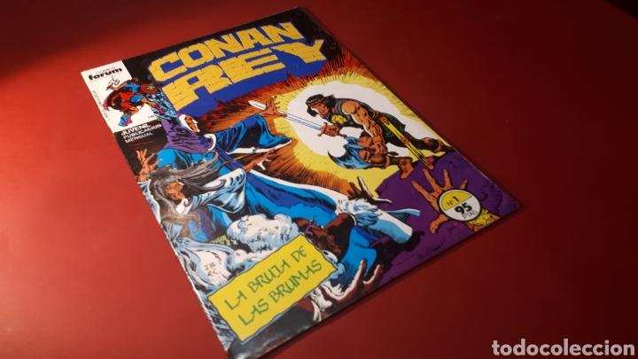 EXCELENTE ESTADO CONAN REY 1 FORUM (Tebeos y Cómics - Números 1)