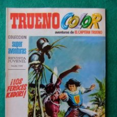 Tebeos: TRUENO COLOR Nº 2 EDITORIAL BRUGUERA 1969. Lote 134102950