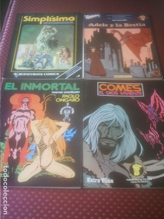 SUPER CIMOC Nº 1 ,SIMPLISIMA Nº 1,EXTRA VILAN ,EL INMORTAL Nº 3 . (Tebeos y Cómics - Números 1)