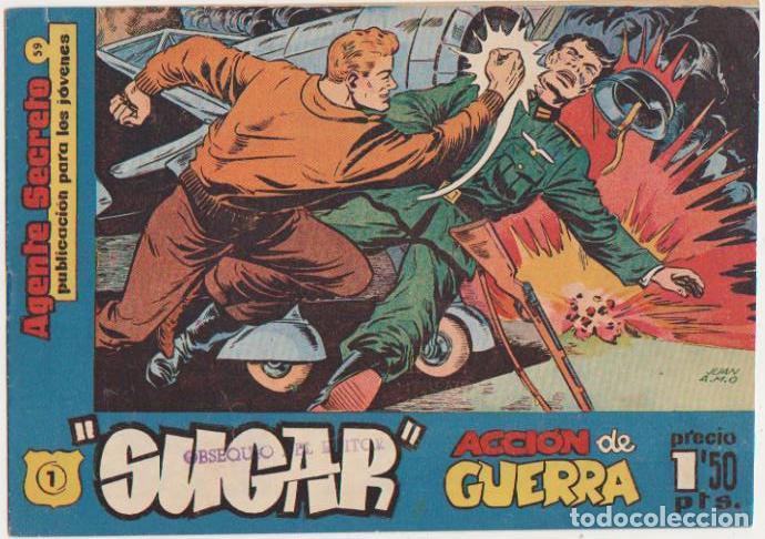 SUGAR Nº 1. HISPANO AMERICANA 1960. SIN ABRIR. (Tebeos y Cómics - Números 1)