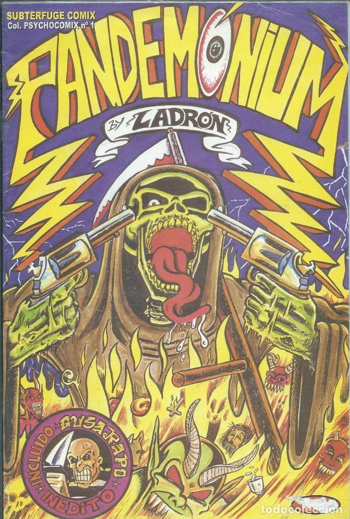 PANDEMONIUM, LADRON. SUBTERFUGE COMIX COL.PSYCHOCOMIX Nº1 (Tebeos y Cómics - Números 1)