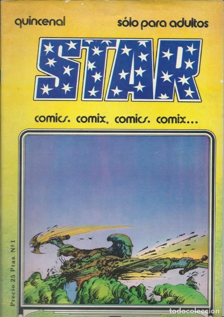STAR, Nº 1 (Tebeos y Cómics - Números 1)