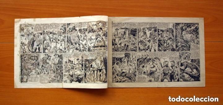 Tebeos: Raj Cobra, nº 1, La emboscada mortal - Ediciones Angel Nieto 1945 - Tamaño 21x31 - ver fotos - Foto 2 - 135192778