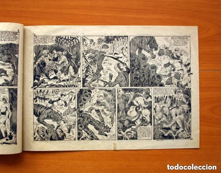 Tebeos: Raj Cobra, nº 1, La emboscada mortal - Ediciones Angel Nieto 1945 - Tamaño 21x31 - ver fotos - Foto 3 - 135192778