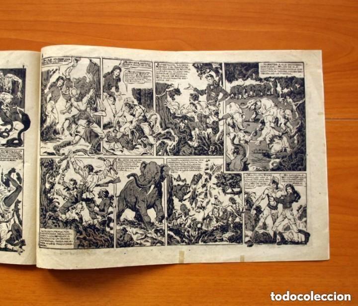 Tebeos: Raj Cobra, nº 1, La emboscada mortal - Ediciones Angel Nieto 1945 - Tamaño 21x31 - ver fotos - Foto 5 - 135192778