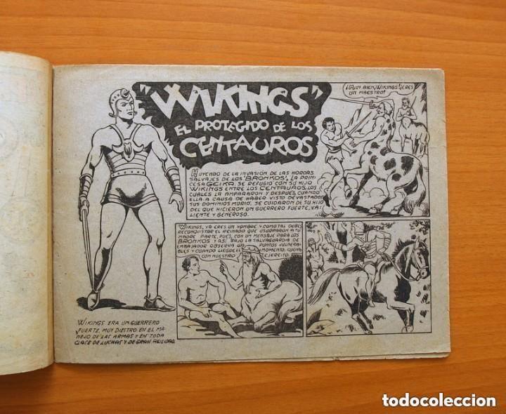 Tebeos: Los Bronkos, nº 1 Wikings el protegido de los Centauros, G.C.A.G. - Editorial Marco 1940 - ver fotos - Foto 2 - 135193062