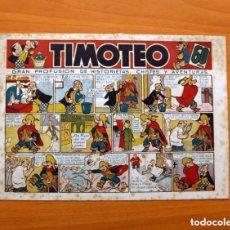 Tebeos: TIMOTEO, Nº 1 - EDITORIAL MARCO AÑOS 40, TAMAÑO 17X25 - VER FOTOS. Lote 135195602