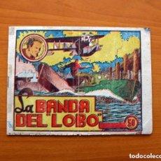 Tebeos: CÉSAR EL HOMBRE RELÁMPAGO, Nº 1 LA BANDA DEL LOBO - G.C.A.G. - EDITORIAL MARCO 1940, VER FOTOS. Lote 135199894