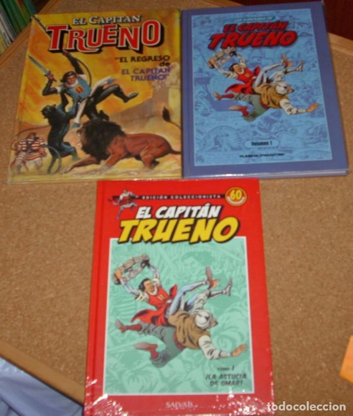 EL CAPITAN TRUENO LOTE DE 3 TOMOS Nº 1 EN TAPA DURA E IMPECABLES (Tebeos y Cómics - Números 1)