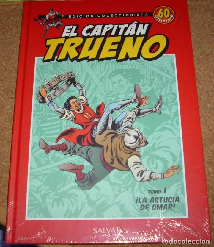 Tebeos: EL CAPITAN TRUENO LOTE DE 3 TOMOS Nº 1 EN TAPA DURA E IMPECABLES - Foto 2 - 135789410