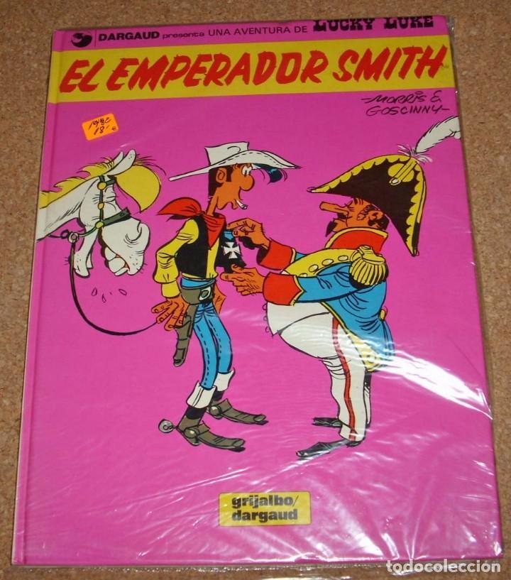 LUCKY LUKE Nº 1 TAPA DURA GRIJALBO 1982 PERFECTO ESTE LOTE ESTÁ YA REBAJADO DE 15 A 9 (Tebeos y Cómics - Números 1)
