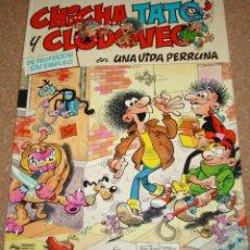 Tebeos: CHICHA TATO Y CLODOVEO Nº 1 TAPA DURA JUNIOR 1986 PERFECTO. Lote 135790490