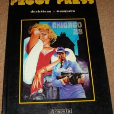 Tebeos: PEGGY PRESS Nº 1 TAPA DURA, ARMONIA 1986 BELGICA, BUENISIMO EN FRANCÉS, PERFECTO- LEER. Lote 135791618