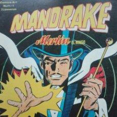 Tebeos: MANDRAKE.MERLIN EL MAGO 1.EL LADRON INCREIBLE (1980). Lote 136796018