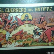 Tebeos: EL GUERRERO DEL ANTIFAZ. NÚMERO 1. VALENCIANA. ORIGINAL. CASI PERFECTO.. Lote 137236880