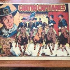 Tebeos: CUATRO CAPITANES Nº 1. Lote 137421758