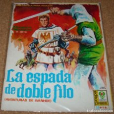 Tebeos: IVANHOE, CINE NOVELA Nº 1 - LA ESPADA DE DOBLE FILO- PORTADA DE JANO- LEER TODO. Lote 137622950