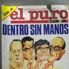 BDs: EL PURO, AÑO 1- Nº 1. Lote 139308286