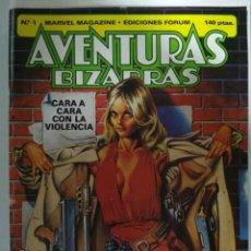 Tebeos: AVENTURAS BIZARRAS, Nº 1, EDICIONES FORUM, AÑO 1983. Lote 139421190