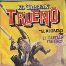 Tebeos: EL CAPITÁN TRUENO Nº 1. EL REGRESO DEL CAPITÁN TRUENO. 1ª EDICIÓN BRUGUERA. TAPAS DURAS.. Lote 139842132