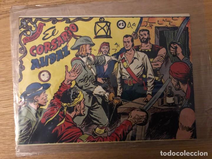 Nº 1, EL CORSARIO AUDAZ, ED RICART 1955 (Tebeos y Cómics - Números 1)