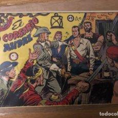 Tebeos: Nº 1, EL CORSARIO AUDAZ, ED RICART 1955. Lote 141241982