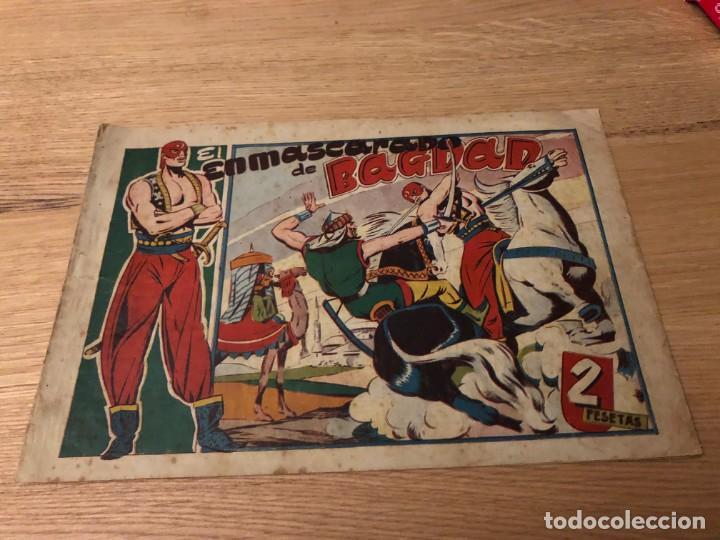 Nº 1, EL ENMASCARADO DE BAGDAD, ED TORAY 1948, IMPECABLE (Tebeos y Cómics - Números 1)