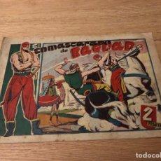 Tebeos: Nº 1, EL ENMASCARADO DE BAGDAD, ED TORAY 1948, IMPECABLE. Lote 141245586