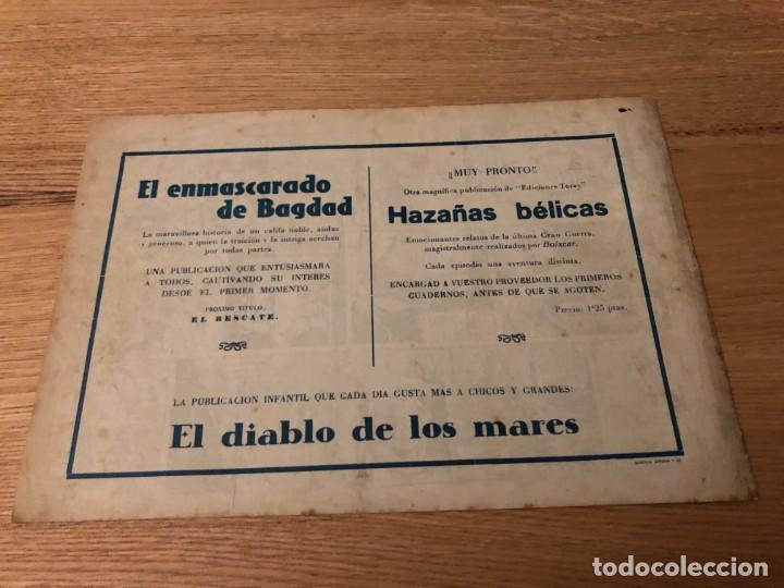 Tebeos: Nº 1, EL ENMASCARADO DE BAGDAD, ED TORAY 1948, IMPECABLE - Foto 2 - 141245586