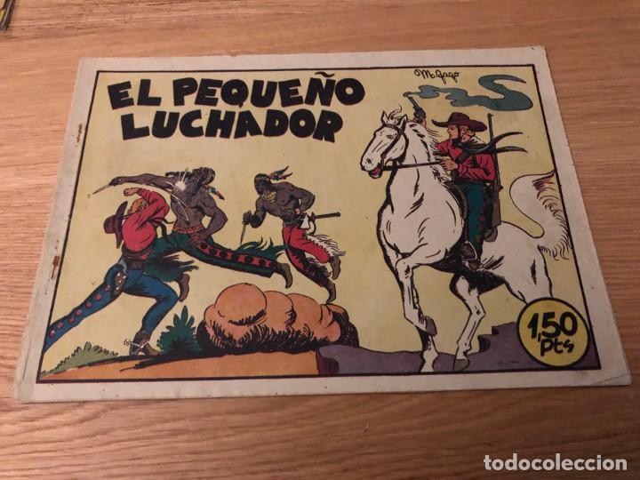 Nº 1 EL PEQUEÑO LUCHADOR, ED VALENCIANA 1945, MUY BUEN ESTADO!! (Tebeos y Cómics - Números 1)