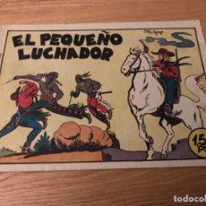 Tebeos: Nº 1 EL PEQUEÑO LUCHADOR, ED VALENCIANA 1945, MUY BUEN ESTADO!!. Lote 141246414