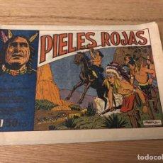Tebeos: Nº 1 PIELES ROJAS, ED JUVENIS 1955. Lote 141249778