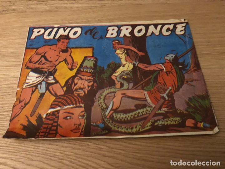 Nº 1, PUÑO DE BRONCE, ED ANDALUZA 1962 (Tebeos y Cómics - Números 1)
