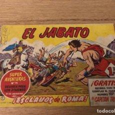 Tebeos: Nº1 EL JABATO, ESCLAVOS DE ROMA, ED BRUGUERA 1958. Lote 141253322