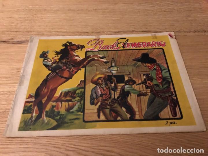 Nº 1 BUCK EL TEMERARIO, COLECCION EL OESTE, ED LUX AÑOS 40 (Tebeos y Cómics - Números 1)