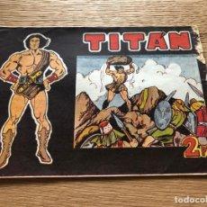 Tebeos: Nº 1 TITAN, ED ACRÓPOLIS 1963. Lote 141323438