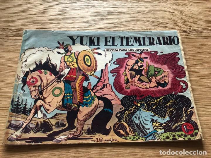 Nº 1 YUKI EL TEMERARIO, ED VALENCIANA 1958 (Tebeos y Cómics - Números 1)