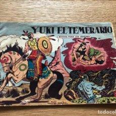 Tebeos: Nº 1 YUKI EL TEMERARIO, ED VALENCIANA 1958. Lote 141323950