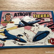 Tebeos: Nº 1 , COMANDO ROY, ATAQUE A LA TIERRA, ED SIMBOLO 1954, MUY BUEN ESTADO. Lote 141324642