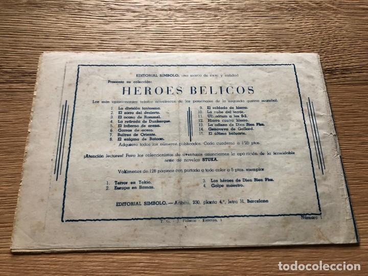 Tebeos: Nº 1 , COMANDO ROY, ATAQUE A LA TIERRA, ED SIMBOLO 1954, MUY BUEN ESTADO - Foto 2 - 141324642