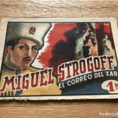 Tebeos: Nº 1, MIGUEL STROGOFF, ED AMELLER 1942. Lote 141325314