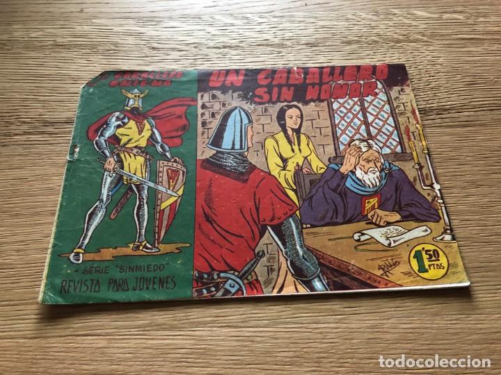Nº 1, EL CABALLERO ENIGMA, UN CABALLERO SIN HONOR, ED ACRÓPOLIS 1963 (Tebeos y Cómics - Números 1)