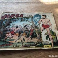 Tebeos: Nº 1 JORGA, PIEL DE BROCE, ALBUM, ED RICART 1963. Lote 141656242