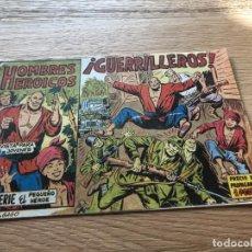 Tebeos: Nº 1 HOMBRES HEROICOS, GUERRILLEROS, ED MAGA 1961, MUY BUEN ESTADO. Lote 141659322