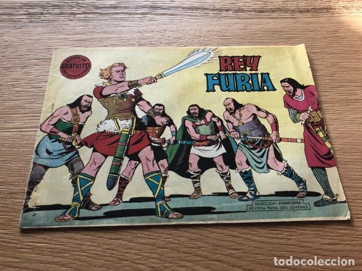 Nº 1, REY FURIA, ED VALENCIANA 1961, IMPECABLE !! (Tebeos y Cómics - Números 1)