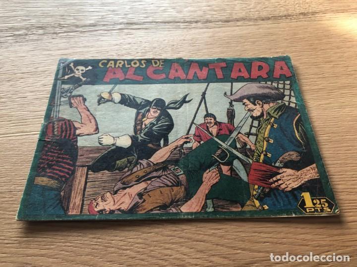 Nº 1, CARLOS DE ALCÁNTARA, ED MAGA 1955 (Tebeos y Cómics - Números 1)