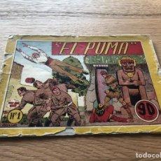 Tebeos: Nº 1 , EL PUMA, ED MARCO 1946. Lote 141662582